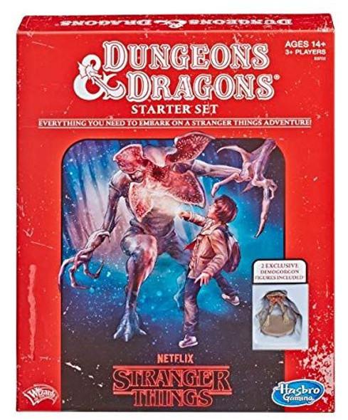 D&D Dungeons & Dragons Stranger Things Roleplaying Game Starter Set
