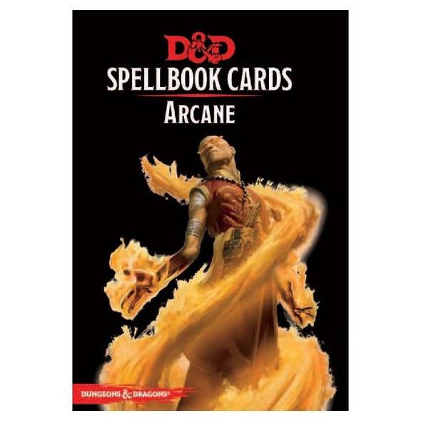 D&D Spellbook Cards Arcane Deck (253 Cards) Revised 2017 Edition