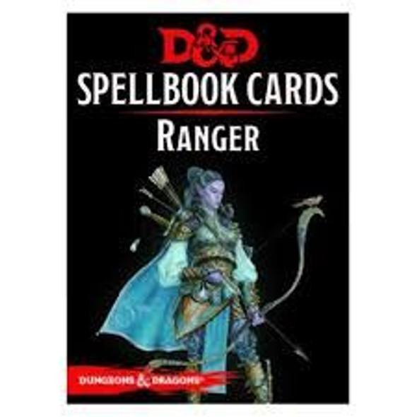 D&D Spellbook Cards Ranger Deck (46 Cards) Revised 2017 Edition