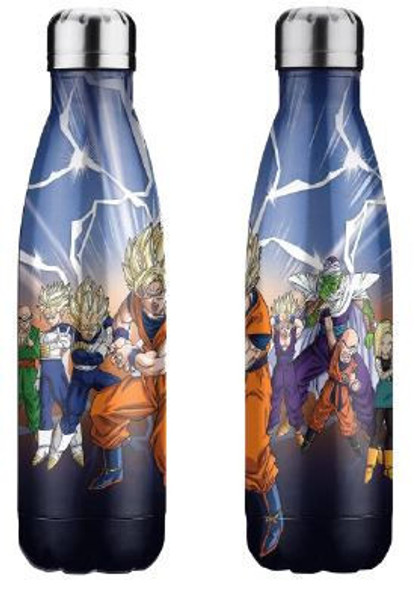 Dragonball Drink Bottle Stainless Steel Warrior