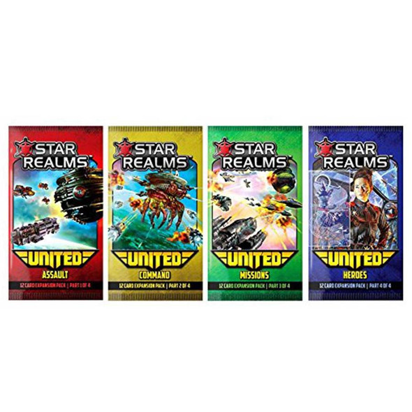 Star Realms - United Expansion x4 Packs