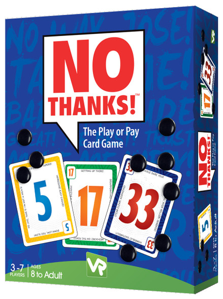 No Thanks - The Pay or Play Card Game