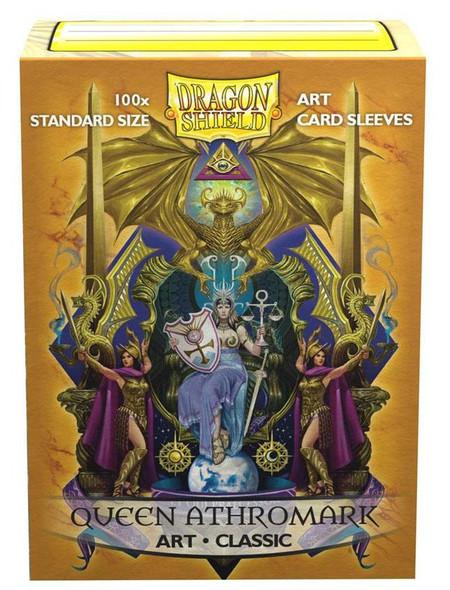 Sleeves - Dragon Shield - Box 100 -  Classic Art - Queen Athromark