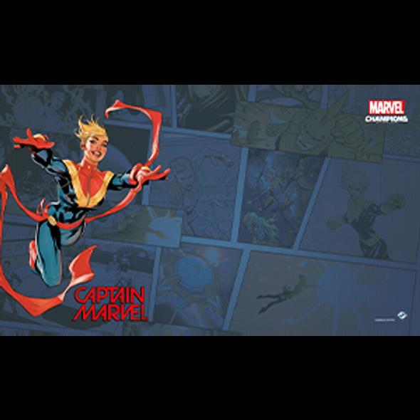 Marvel Champions LCG Game Mat - Captain Marvel