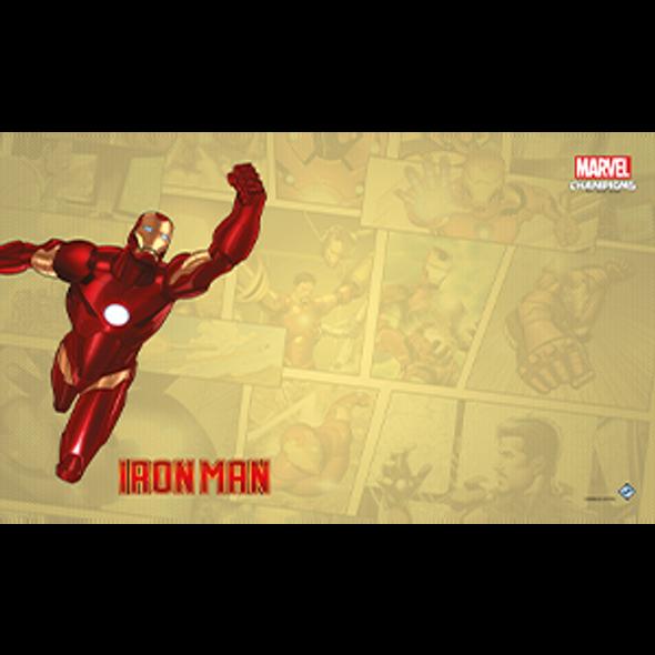 Marvel Champions LCG Game Mat - Iron Man