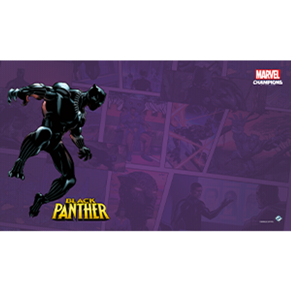 Marvel Champions LCG Game Mat - Black Panther