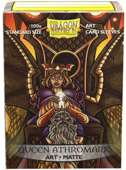 Sleeves - Dragon Shield - Box 100 -  Matte Art - Queen Athromark