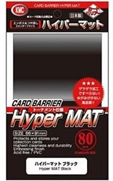 KMC Hyper MAT Black Sleeves (80)
