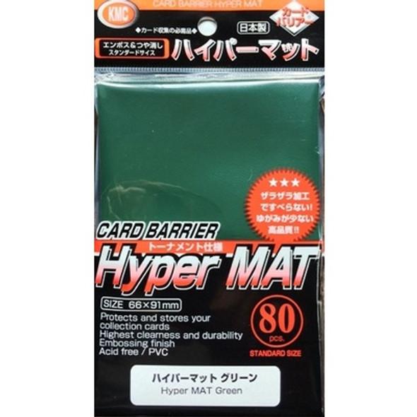 KMC Hyper MAT Green Sleeves (80)