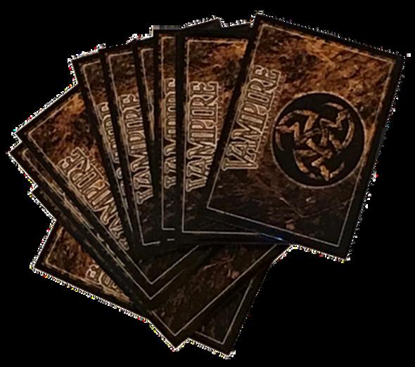 Ultra Pro Vampire: The Eternal Struggle (V:TES) Crypt sleeves (50 per pack)