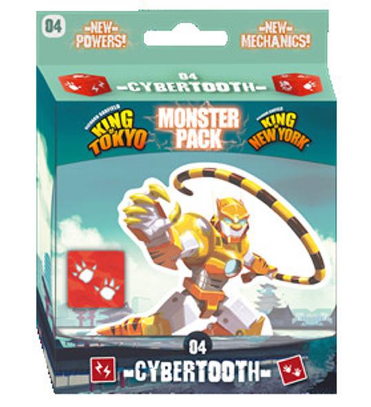King of Tokyo / New York  Monster Pack - 04 Cybertooth