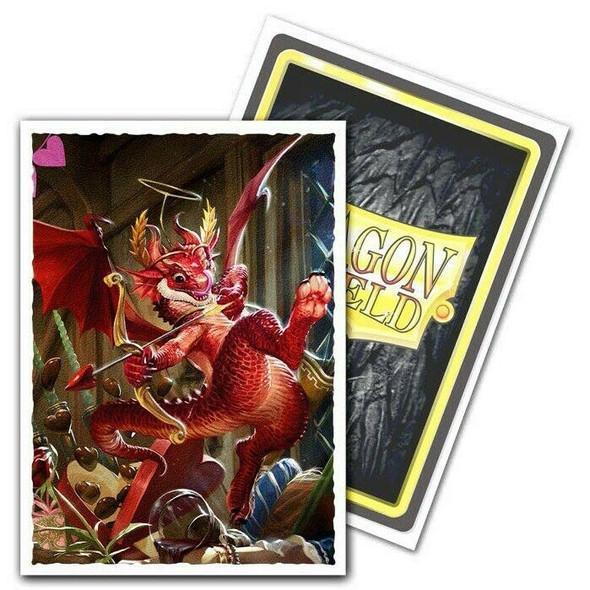 Sleeves - Dragon Shield - Box 100 -  MATTE Art - Valentine Dragon 2020