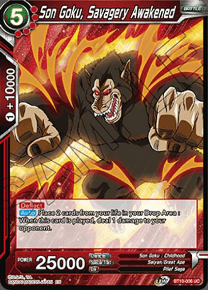 BT10-006 Son Goku, Savagery Awakened