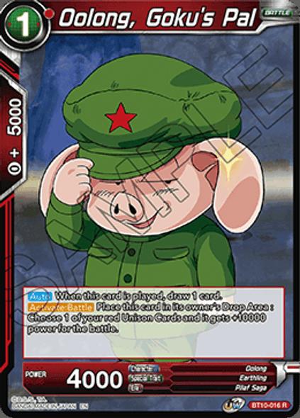 BT10-016 Oolong, Goku's Pal