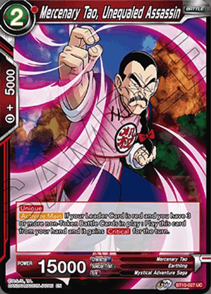 BT10-027 Mercenary Tao, Unequaled Assassin