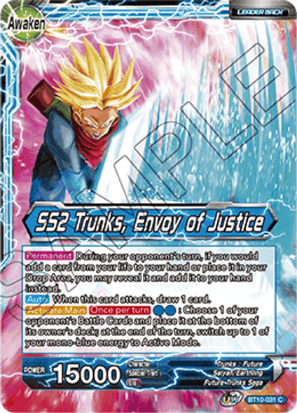 BT10-031 Trunks / SS2 Trunks, Envoy of Justice