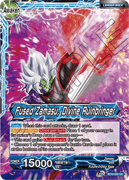BT10-032 Potara-Fused Zamasu / Fused Zamasu, Divine Ruinbringer