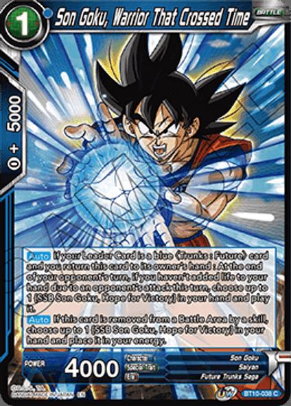 BT10-038 Son Goku, Warrior That Crossed Time
