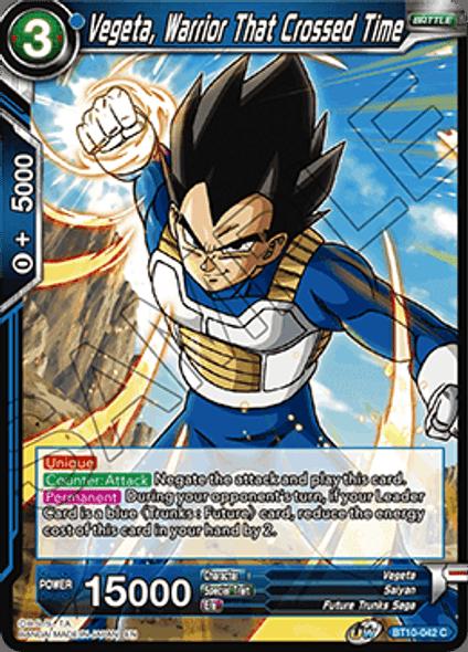 BT10-042 Vegeta, Warrior That Crossed Time