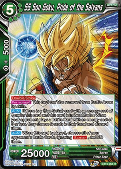BT10-065 SS Son Goku, Pride of the Saiyans