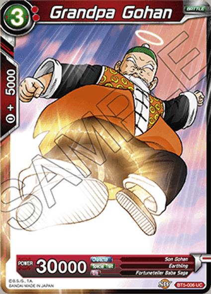 BT5-006 Grandpa Gohan