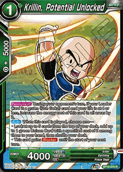 BT10-070 Krillin, Potential Unlocked