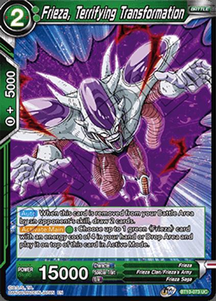 BT10-073 Frieza, Terrifying Transformation