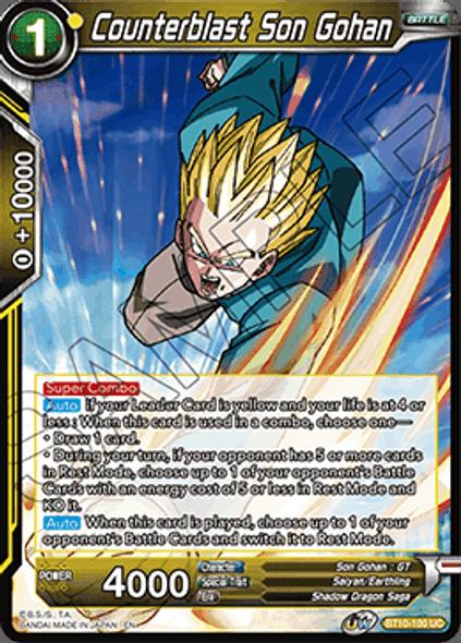BT10-100 Counterblast Son Gohan