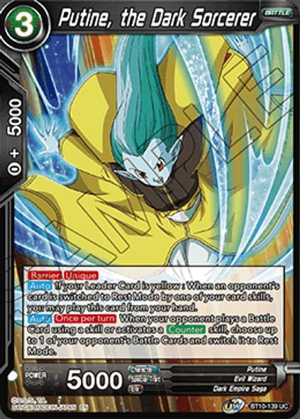 BT10-139 Putine, the Dark Sorcerer