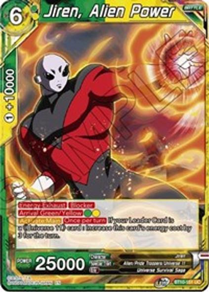 BT10-151 Jiren, Alien Power