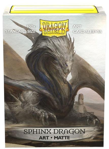 Sleeves - Dragon Shield - Box 100 -  Matte Art - Sphinx Dragon