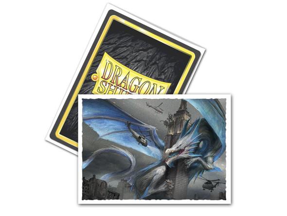 Sleeves - Dragon Shield - Box 100 -  Matte Art - Empire State Dragon