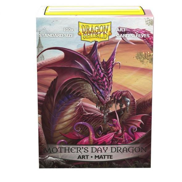 Sleeves - Dragon Shield - Box 100 -  Matte Art - Mother's Day Dragon