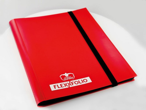 Ultimate Guard 9-Pocket FlexXfolio (On Demand) - Red