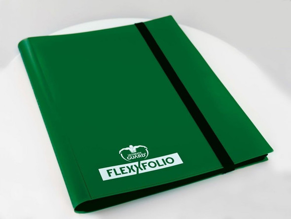 Ultimate Guard 9-Pocket FlexXfolio (On Demand) - Green