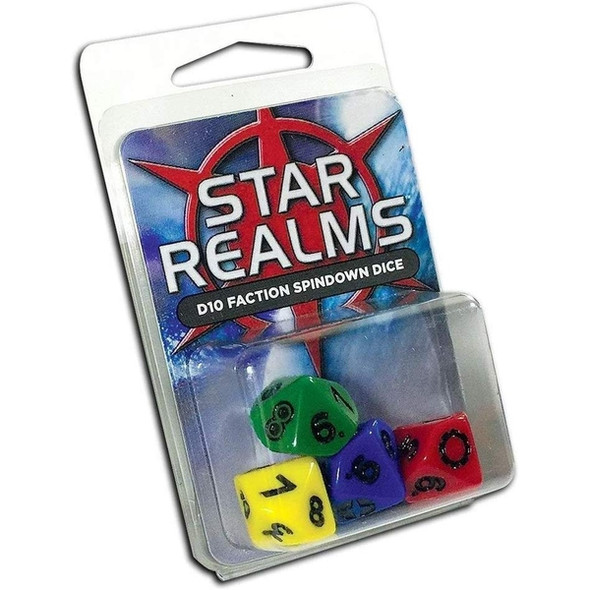 Star Realms - Pack of D10 (4) Faction Dice