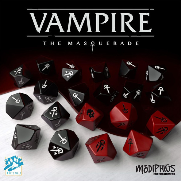 Vampire The Masquerade 5th Edition Dice Set (20)