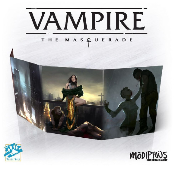 Vampire The Masquerade 5th Edition Storyteller Screen (On Demand Order)
