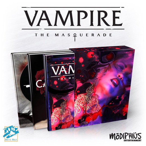 Vampire the Masquerade 5th Edition Slipcase Set