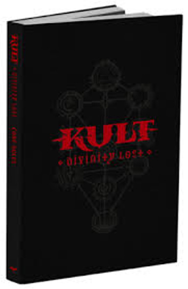 KULT: Divinity Lost Black Edition - 4th Ed Core Rules (On Demand Order)