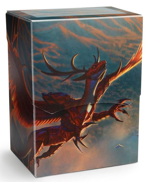 Deck Box Dragon Shield Deck Shell Crimson Logi