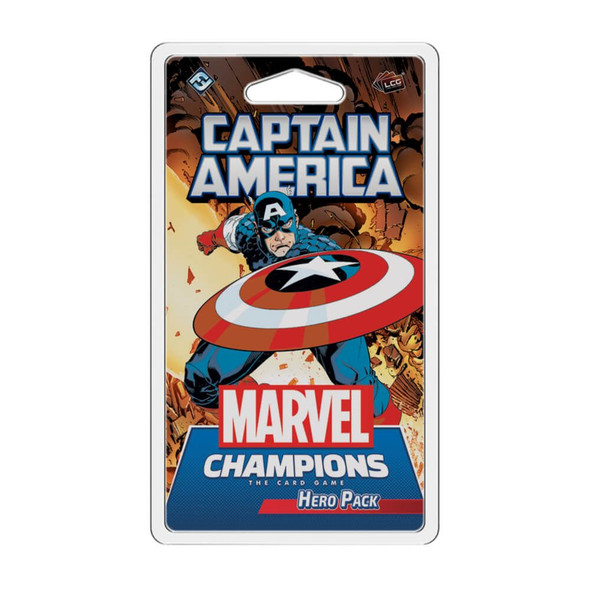 Marvel Champions LCG Captain America Hero Pack (On Demand)