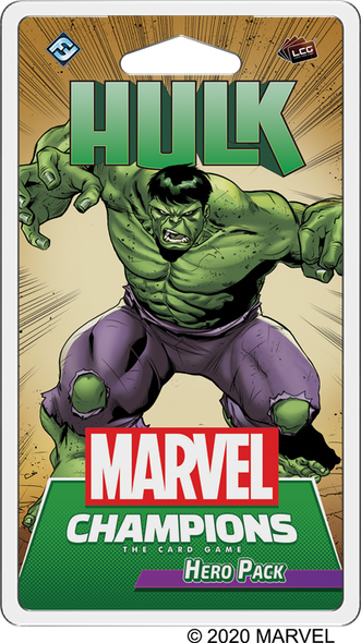 Marvel Champions LCG Hulk Hero Pack