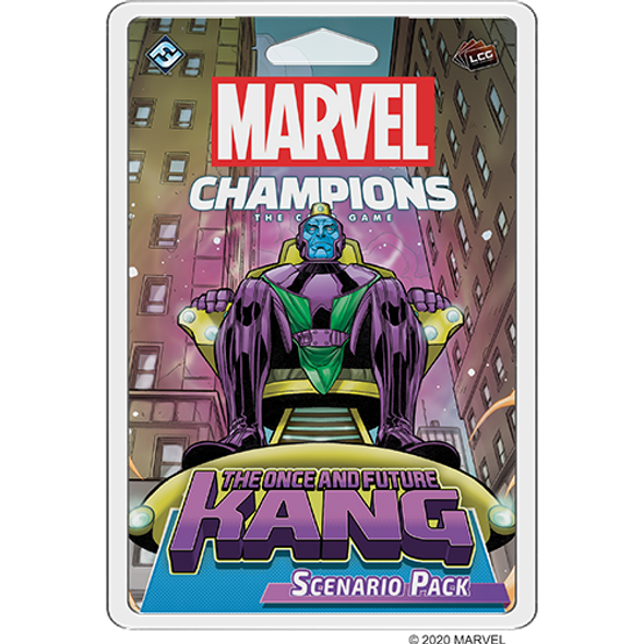 Marvel Champions LCG The Once and Future Kang Scenario Pack (On Demand)