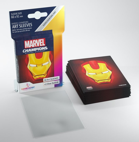 Gamegenic Marvel Champions Art Sleeves Iron Man