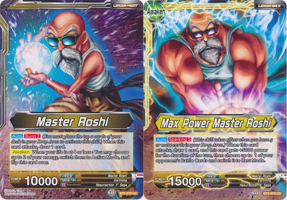 BT5-079 Master Roshi / Max Power Master Roshi