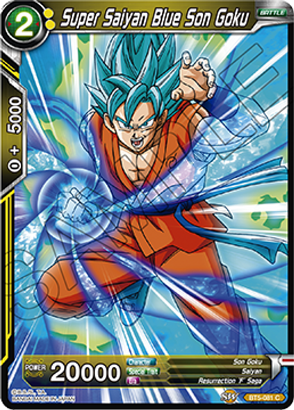 BT5-081 Super Saiyan Blue Son Goku