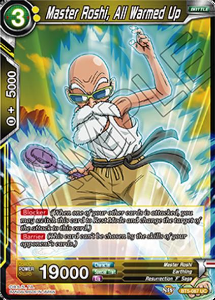 BT5-087 Master Roshi, All Warmed Up