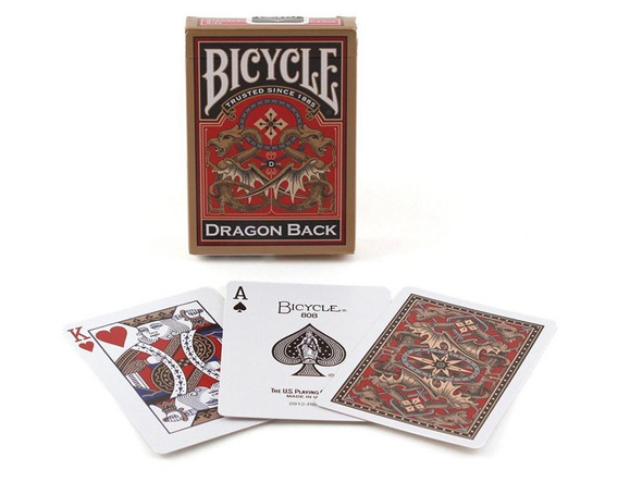 Bicycle Dragon Gold Playing Cards (on demand)