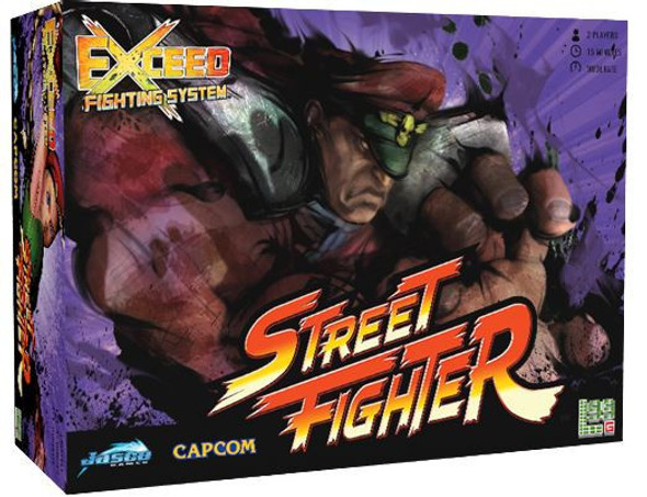 Exceed Street Fighter - M. Bison Box